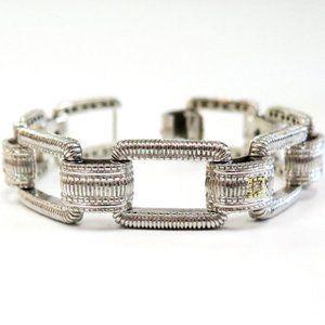 Judith Ripka Bracelet with Tiny Diamond accent